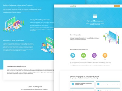 Front-End Development Page