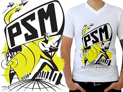 Design for T-Shirts duotone propagandist propaganda textile t-shirt design graphic