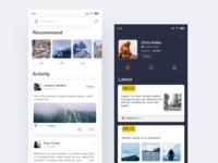 Funchat App Concept Design