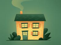 Procreate House Illustration I