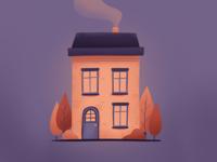 Procreate House Illustration II