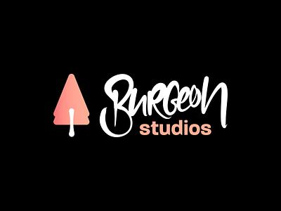 Fictonal Game Studio Logo Design typography corporate design corporate identity branding logo wordmark lettering logodesign logo mark logotype