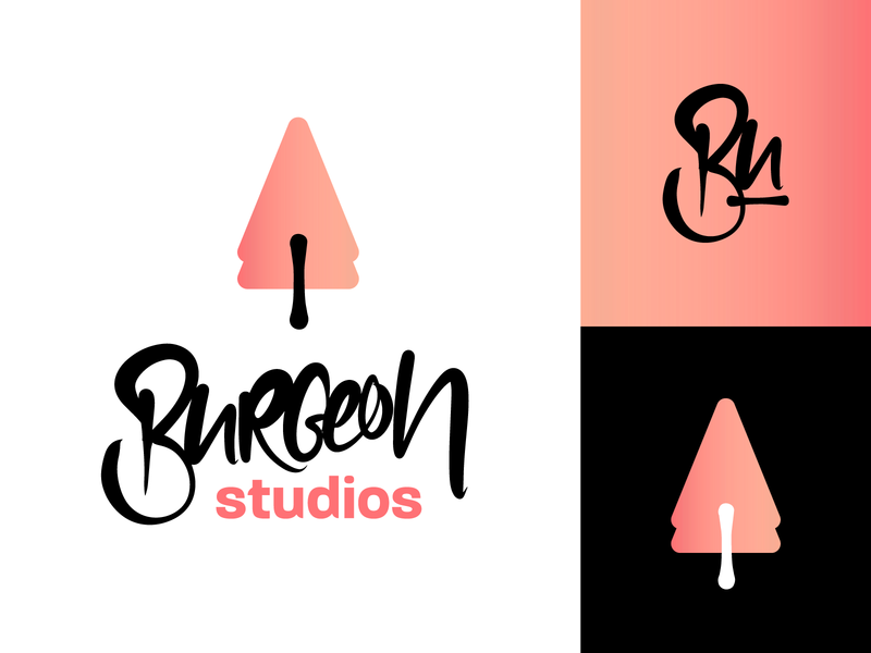 Fictonal Game Studio Logo Design Variations I logotype logo mark logodesign typography lettering wordmark logo branding corporate identity corporate design