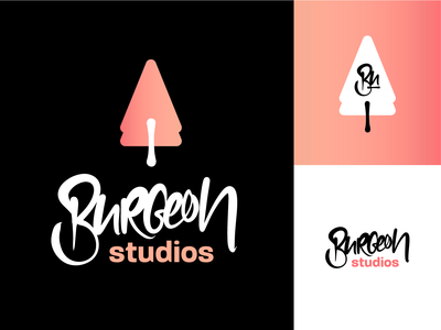 Fictonal Game Studio Logo Design Variations II