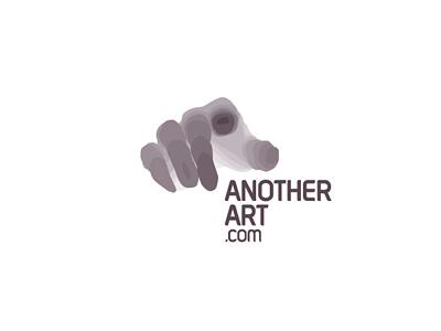 AnotherArt Logo layers branding identity dynamic spots logo hand