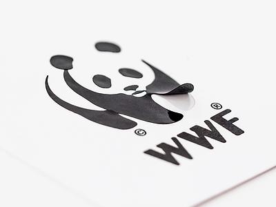 Not Just a Panda Campaign outdoor poster dynamic graphic design logo campaign tortoise penguin gorilla panda wwf