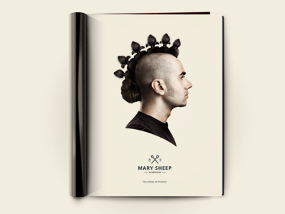 Mary Sheep Print Ad
