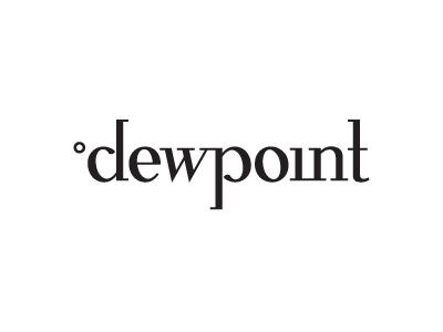 Dewpoint development mobile logo web dew point degree celsius