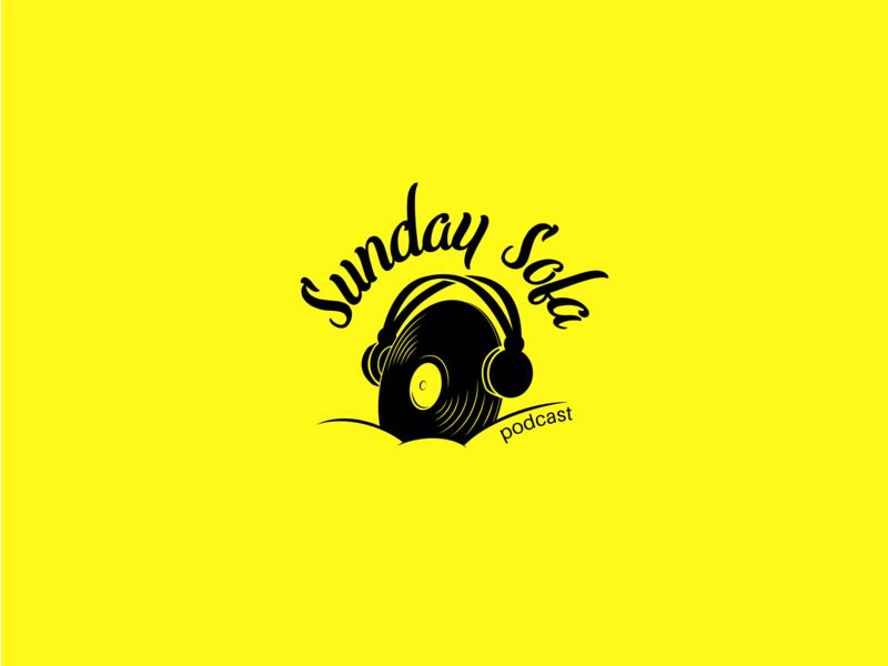 Sunday Sofa podcast logo brand music sofa sunday symbol personallogo designinspiration logomark identitydesign iyalogo mark logodesign designlogo branding art logotype vector logo illustrator adobe