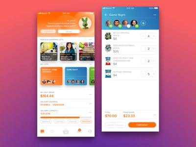 Online Supermarket App