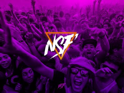 Festival NSF * Logo & Brending icon vector branding minimalistic logo design