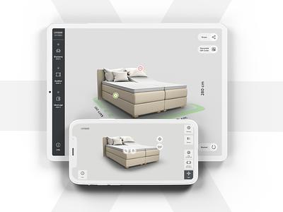3D Configurator * UX / UI Design user experience userinterface unity 4k web mobile app minimalistic ui