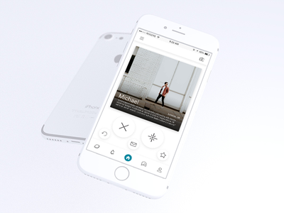 New Shot * white ux ui ios app android