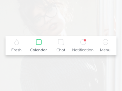 Menu * Icon set soon available