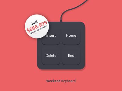Weekend is over * Thank's God! morrnings bad times good hangover keyboard weekend