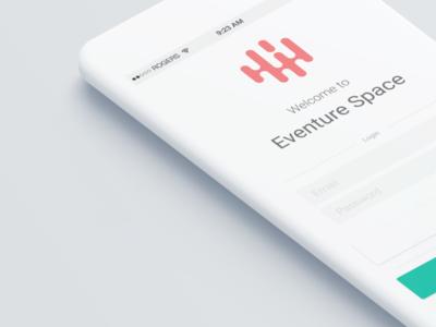 Eventure Space * App Design * Welcome