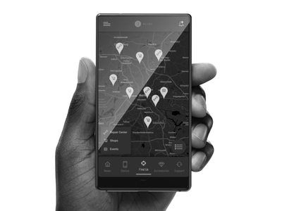 Blloc * Customer App for Blloc blloc mobile app minimalistic design user experience user interface ux uiux ui