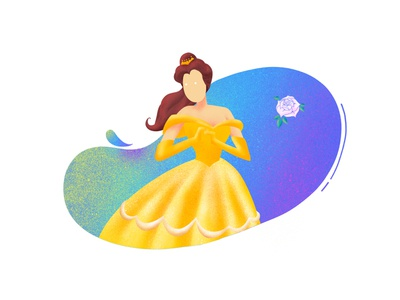 (18/100) Disney princess #6: Belle