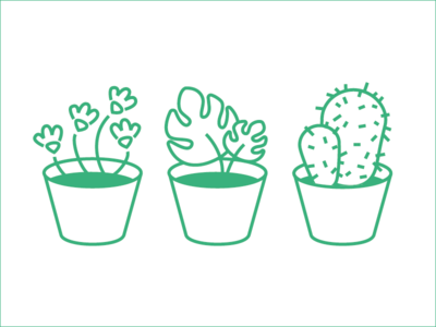 Plants Icons for web app