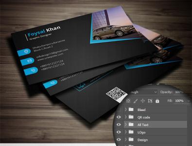 Rent Car Business Card template business card design print design ui branding