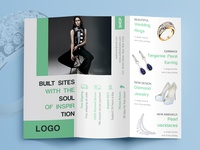 Tri fold jewelry brochure