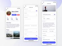 Profile+Event creation