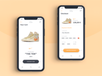 Sneaker App Credit Card Checkout