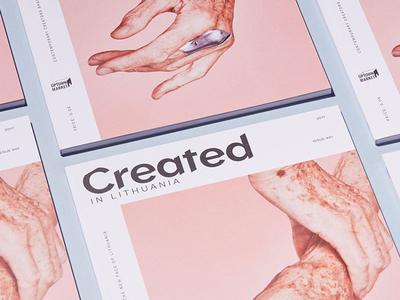 Created in Lithuania mag magazine cover magazine design magazine layout design