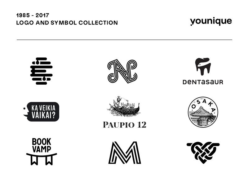 Logo and symbol collection on Behance branding clean brandmark mark identity minimal design logo