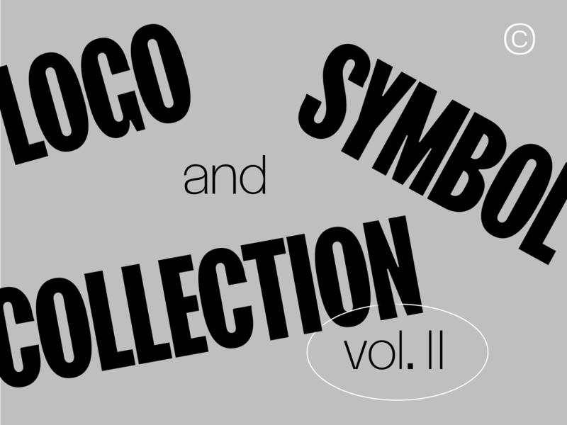 Logo and Symbol collection vol. II logodesigns logo design logotype logodesign collection vector concept clean brandmark mark identity branding design logo