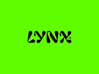 Lynx CBD typography type logotype concept clean brandmark mark identity branding minimal design logo