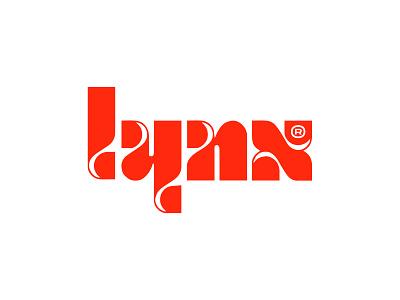 Lynx CBD v3 typography logo typographic logotype typography type concept identity branding minimal design logo