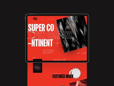 Supercontinent web direction 2 modernism brutalism layout web design web ux ui design