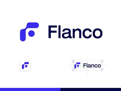 Flanco logotype vector clean brandmark mark identity branding minimal design logo