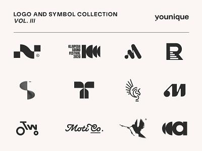 Logofolio 3 live on Behance! graphic design creative logo creative logofolio behance logotype vector brandmark mark identity branding minimal design logo