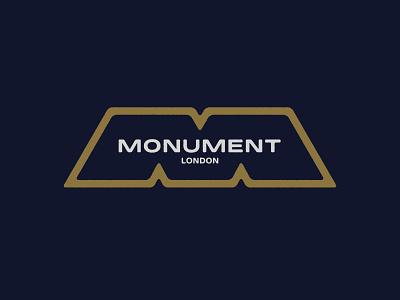 Monument icon logotype brand design brand visual logo design symbol typography type vector clean brandmark mark identity branding minimal design logo