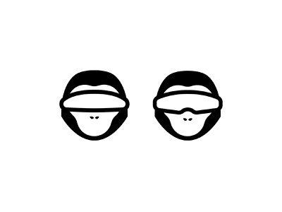 Space primates monkeys monkey primate space logotype vector brandmark mark identity branding design logo