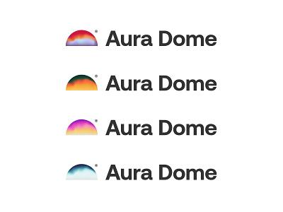 Aura Dome studio agency logo design branding design identity design brand identity brand vector icon logotype concept brandmark mark identity branding minimal design logo