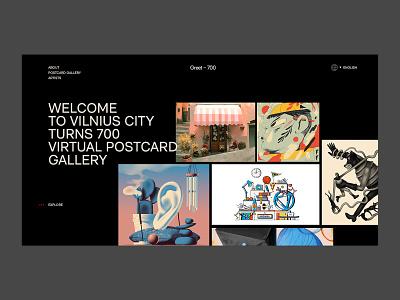 greet700 concept v2 vilnius agency design web design typography web website concept website design website concept branding product uiux ux ui layout page landing page landing studio