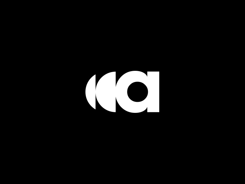 A sound wave sound a vector clean design identity mark concept brandmark branding minimal logo