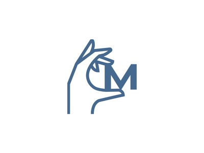 M in the hand