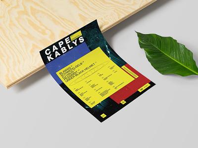 Cape Kablys festival minimal design festival brand design branding