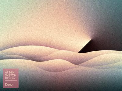 Sketch #05 | Dune