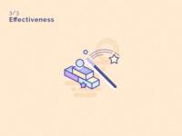 Effectiveness icon 3/3