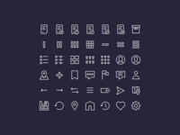 24x24 icons (wip)