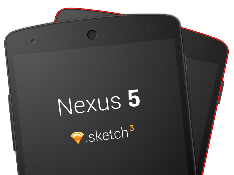 Nexus 5 sketch template w 2 2x