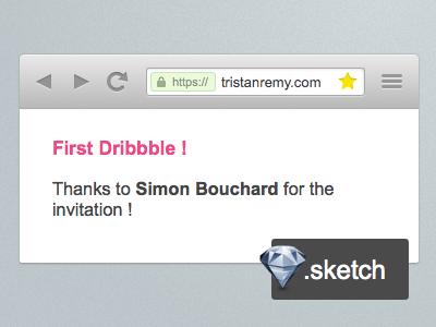 Browser Frame resource sketchapp browser freebie