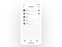 (18/30)Day's UI design training - Message