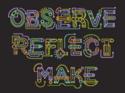 Observe | Reflect | Make