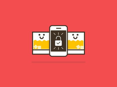 Unlock Happy Hours! 🍻 vector logo illustration identity graphic flat design happy hours concept art abstract 2d